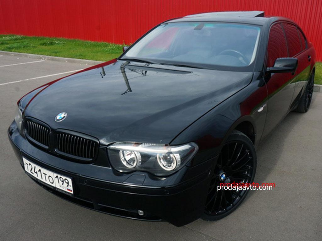BMW 760li 2003