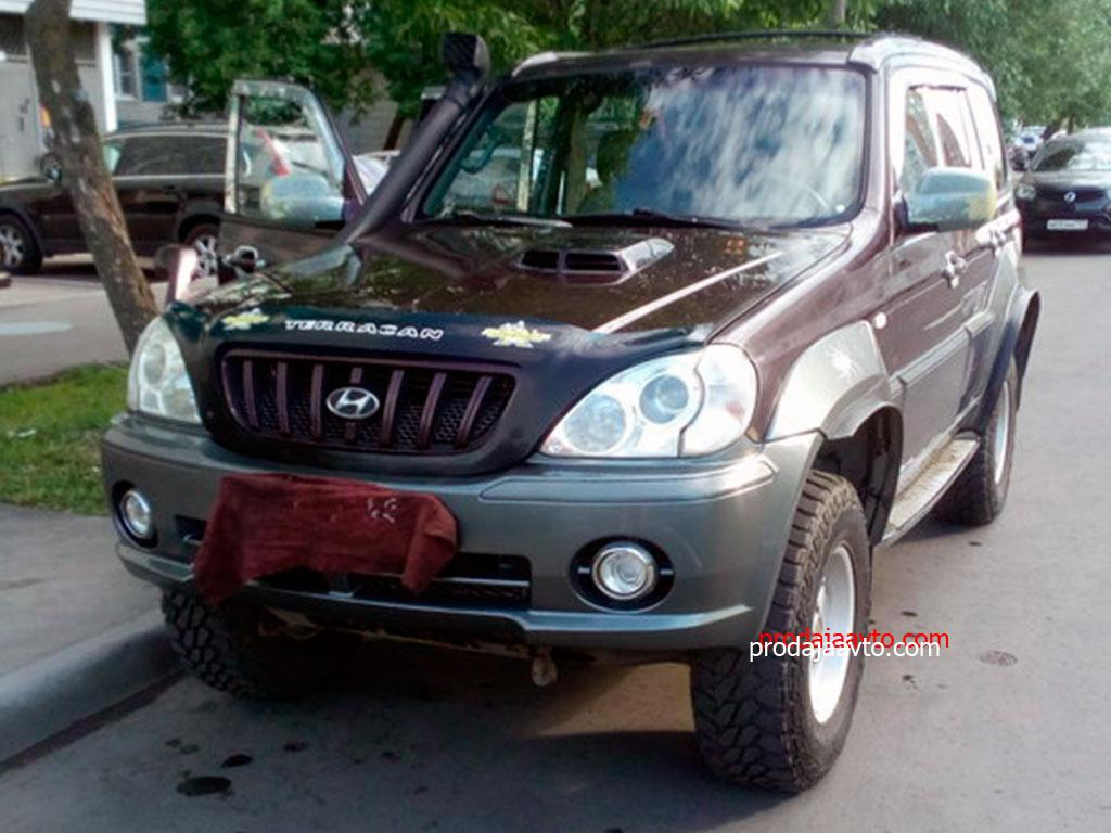 Hyundai Terracan 2001