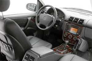 Салон Mercedes ML W163