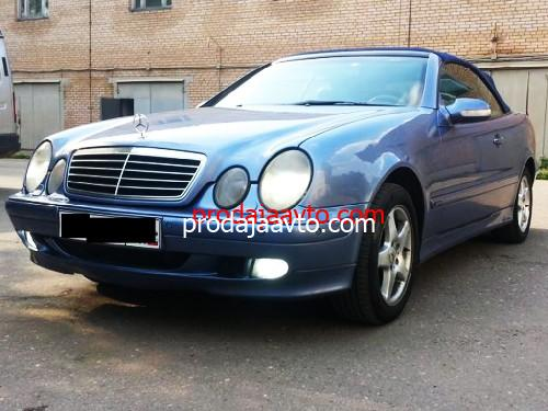 Mercedes-Benz CLK230 2001