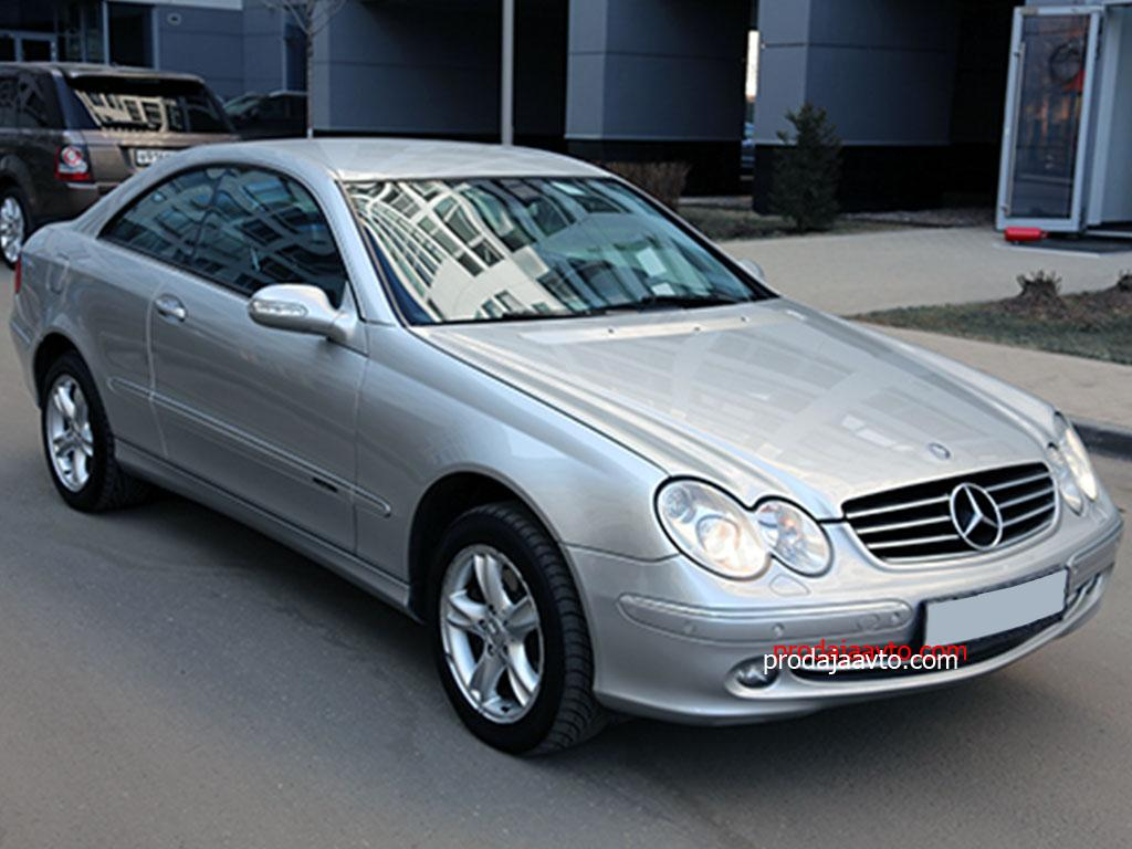 Mercedes-Benz CLK320 2002
