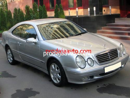 Mercedes-Benz CLK320 2001