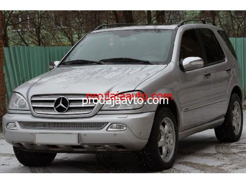 Mercedes-Benz ML400 2002