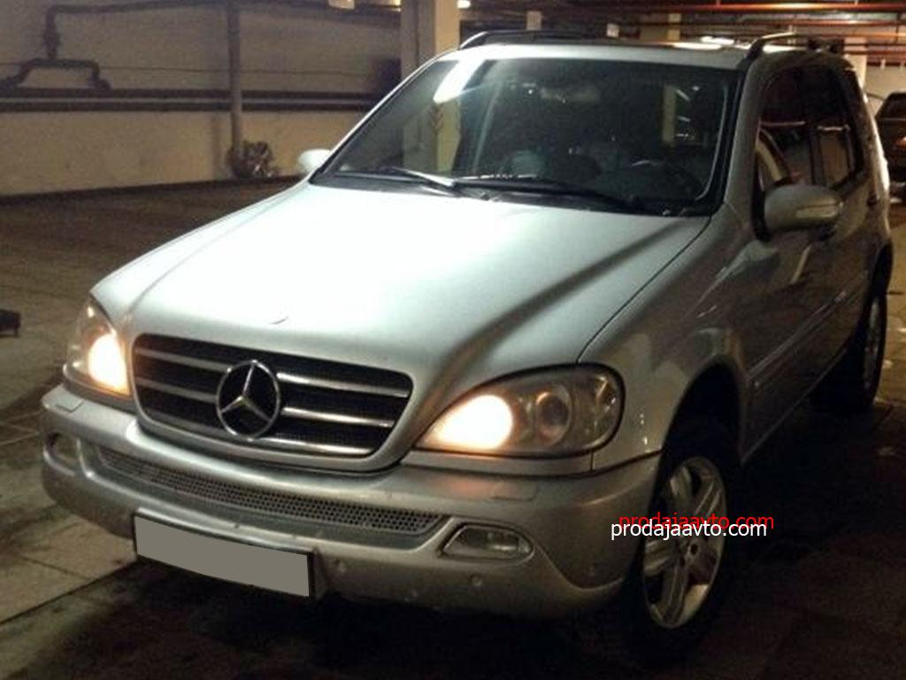 Mercedes-Benz ML500 2002