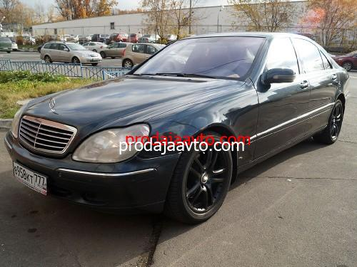 Mercedes-Benz S500 2000