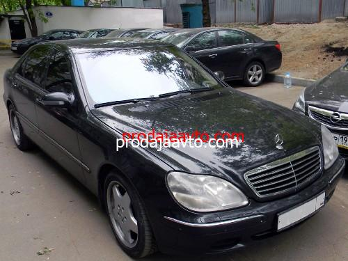 Mercedes-Benz S500 2001