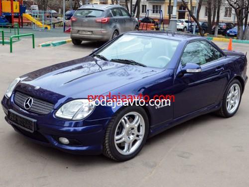 Mercedes-Benz SLK 2001