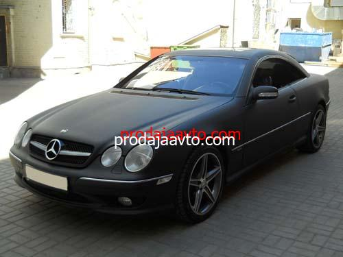 Mercedes-Benz CL500 2002