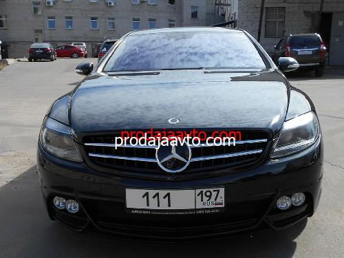 Mercedes-Benz CL500 2007